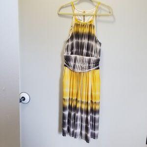 Maggy London Keyhole Halter Dress